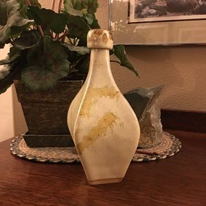 Nooksack Bottle, Signed Pottery Carafe